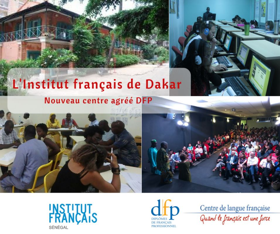 Une vue d'ensemble de L'institut franco-sénégalais